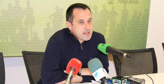 Concejal de Movilidad del Ayuntamiento de Torrelavega, Pedro Aguirre.