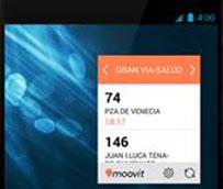 Moovit crea una nueva herramienta para consultar al instante las líneas del transporte público