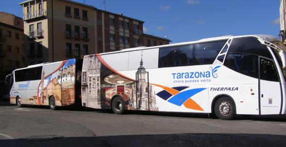 Los menores de hasta cuatro años estarán exentos de pagar el billete del autobús urbano de Tarazona