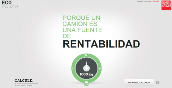 Renault Trucks lanza una herramienta para controlar la huella medio ambiental de los transportistas de forma gratuita