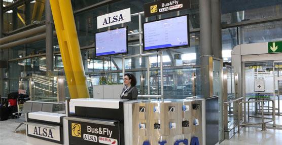 ALSA abre una nueva oficina de información en el Aeropuerto Adolfo Suárez Madrid-Barajas