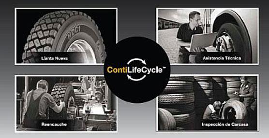 Los neumáticos Continental de camión y autobús pueden tener una segunda vida útil con todos los estándars de calidad