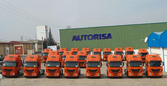 Grupo Arnedo recibe las 20 primeras unidades del Iveco Stralis Hi-Way euro 6 que se entregan en La Rioja.