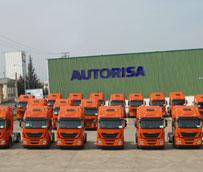 Grupo Arnedo recibe las 20 primeras unidades del Iveco Stralis Hi-Way euro 6 que se entregan en La Rioja