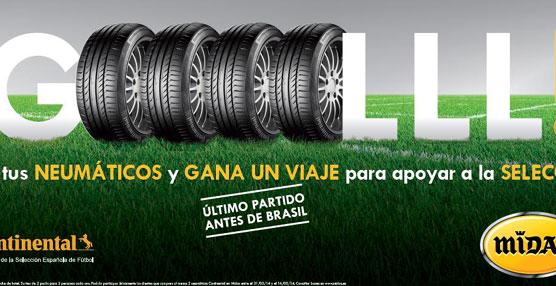 Midas sortea entre los clientes que cambien neumáticos entradas para ver jugar a la selección española de fútbol