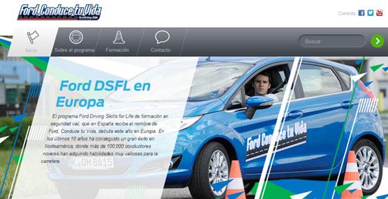 """16.000 jóvenes han participado en la Academia online """"Ford, Conduce tu Vida"""", alojada en 'www.conducetuvida.es'."""