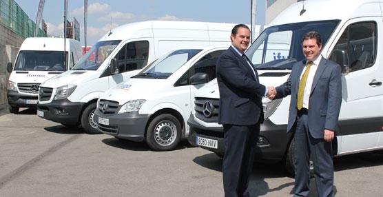 ifurgo elige un total de 25 furgonetas de Mercedes-Benz para su flota de vehículos de alquiler