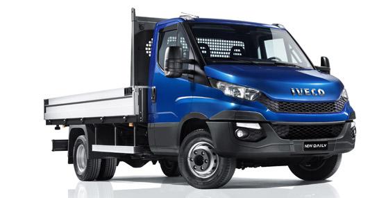 Iveco rediseña su Daily mejorando la capacidad de carga y la maniobrabilidad con la tercera generación del vehículo
