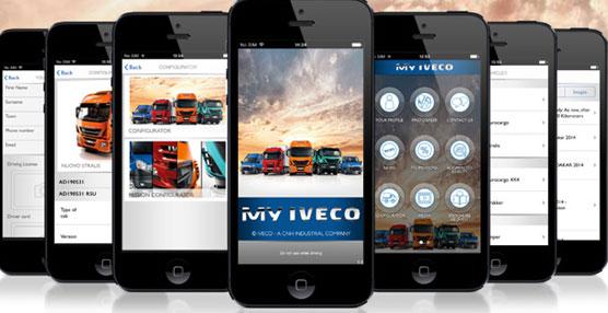 Iveco lanza una nueva aplicación gratuita para 'smartphones' y tabletas dedicada a todos los transportistas