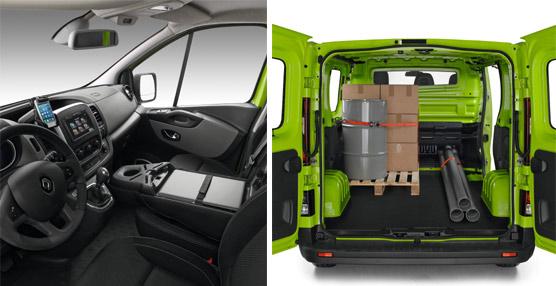 Practicidad en el habitáculo y espacio de carga son los atributos que destaca Renault de su nueva Trafic.