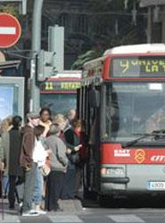 Cerca de ocho millones de usuarios viajan en Marzo con EMT Valencia.