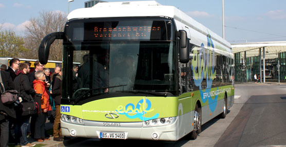 Solaris ha presentado su autobús eléctrico Urbino en la ciudad alemana de Braunschweig.
