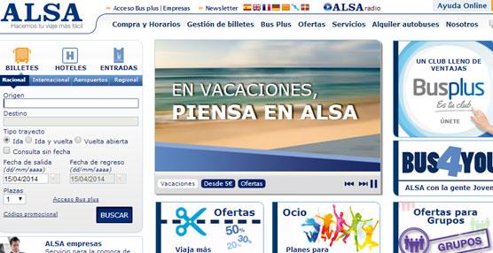 ALSA alcanza los 500.000 billetes vendidos a través de dispositivos móviles en el mes de abril