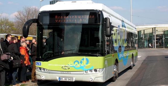 Solaris ha presentado oficialmante su Autobús Eléctrico Urbino en la ciudad alemana de Braunschweig