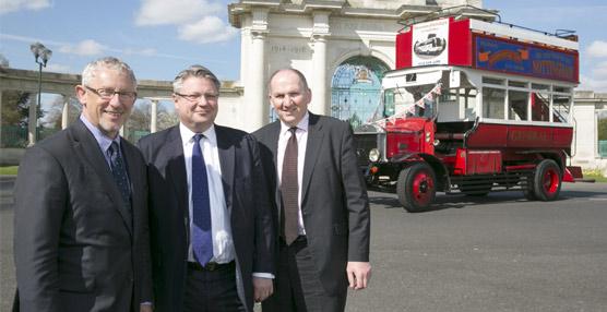 El rol del autobús durante la primera guerra mundial será conmemorado en la nueva edición de Euro Bus Expo