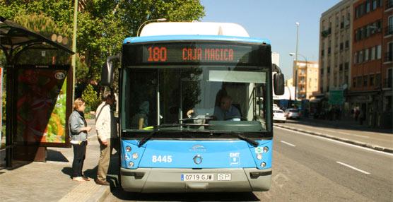 Se activa la línea 180 de autobuses 'Caja Mágica-Legazpi' para la celebración del Mutua Madrid Open de Tenis 2014