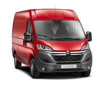 Citroën está promocionando su nuevo Jumper, un vehículo comercial para profesionales por definición