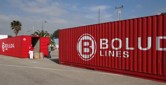 Boluda Corporación Marítima colabora con Cruz Roja con la cesión de dos contenedores de 40'
