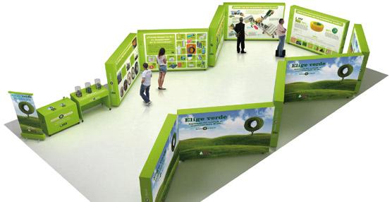 La exposición itinerante 'Recicla y sonríe' llega a Mérida después de superar los cinco millones de visitas