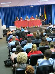 El Ayuntamiento de Las Palmas explica la nueva estrategia de Movilidad Sostenible a alumnos de secundaria