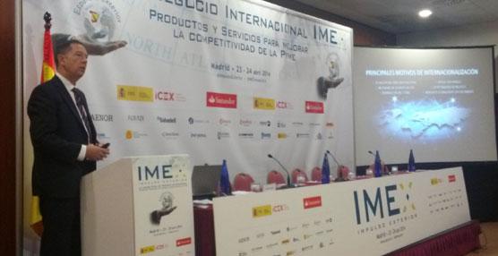 DHL Express ofrece pequeñas charlas sobre exportación en su stand de la feria IMEX Impulso Exterior 2014