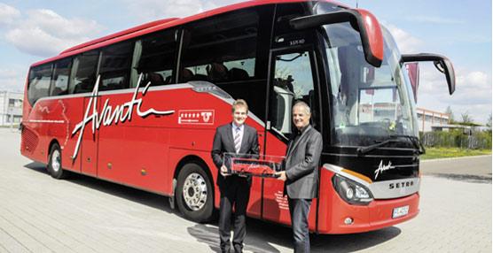El ComfortClass 500 de Setra regresa a Alemania tras un recorrido de 34.000 kilómetros alrededor del mundo