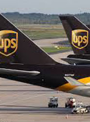 El beneficio de explotación del trimestre de UPS fue de 1.500 millones de dólare.