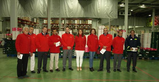 Eroski inaugura una plataforma logística de frescos en Mallorca.