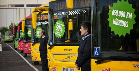 Interbus, de la mano de Volvo, refuerza la apuesta de Madrid por los autobuses híbridos en entornos urbanos