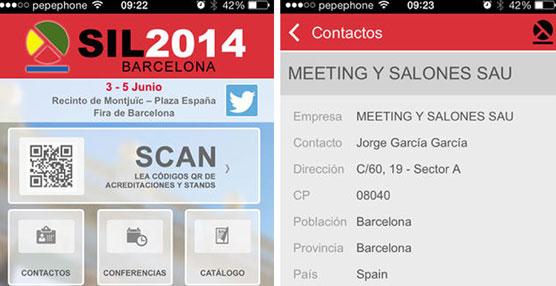 El SIL 2014 crea una nueva aplicación para i-phones y Androids que favorecerá los contactos