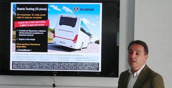 Scania adapta el Touring HD a las necesidades del mercado ibérico dotándole de 55 plazas