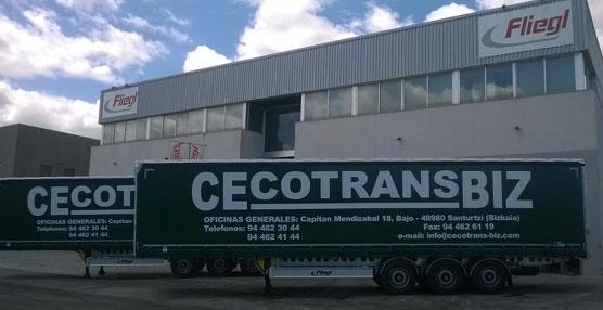 Cecotrans-Biz refuerza su flota con ocho semirremolques Fliegl equipados con chasis galvanizado 'Greenlight'