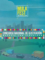 """Mulafest 2014 convoca el concurso nacional de ilustración """"muévete con seguridad"""" inspirado en mensajes de la DGT"""