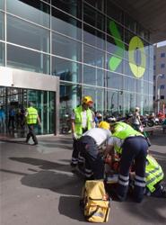 TITSA realiza varios simulacros de evacuación de emergencia en el Intercambiador de Santa Cruz de Tenerife