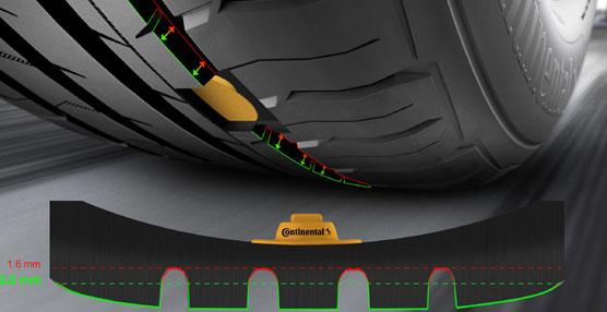 Los futuros sensores de presión de neumáticos de Continental detectarán si es necesario cambiar las ruedas