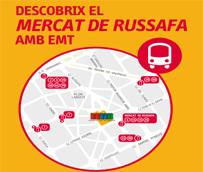 EMT Valencia promocionará el mercado municipal de Ruzafa mejorando la información en todos sus canales