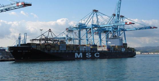 La mercancía general subió un 3,1% con 52,2 millones de toneladas.