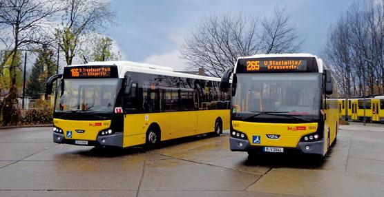 La Autoridad de Transporte de Berlín (BVG) encarga 236 autobuses de piso bajo a VDL Bus & Coach