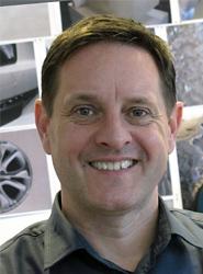 Nigel Atterbury, diseñador de Volvo Trucks.