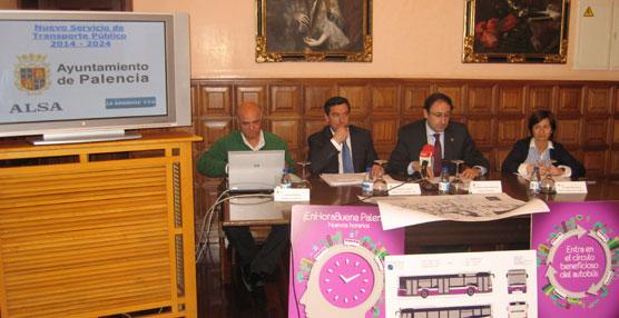 Palencia cuenta con un nuevo servicio de transporte público que comenzará a funcionar en verano
