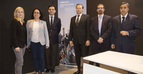 Ifema, Messe Frankfurt y Sernauto vuelven a unir fuerzas para impulsar Motortec Automechanika Madrid 2015