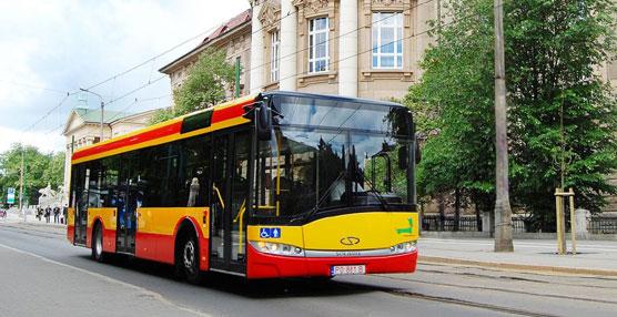 Solaris Bus Ibérica entrega siete autobuses Urbino de 12 metros a la empresa TCC perteneciente al grupo Moventia