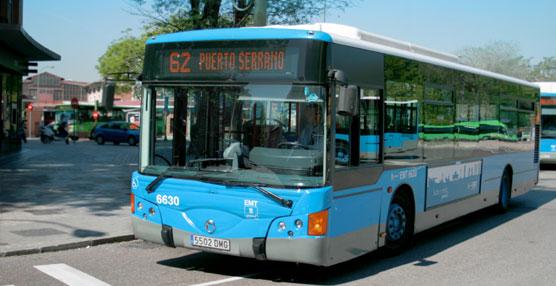 La EMT de Madrid cambia la denominación de 19 líneas con el fin de 'adecuarlas a la realidad urbana de Madrid'