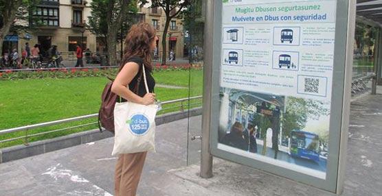 Arranca 'Muévete en Dbus con Seguridad', campaña informativa para mejorar la seguridad en los autobuses