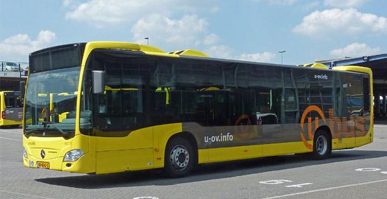 Uno de los autobuses equipados con Citysphere.