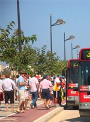 El Dispositivo Especial de EMT Valencia entra de lleno en funcionamiento con 7,8 millones de plazas a las playas