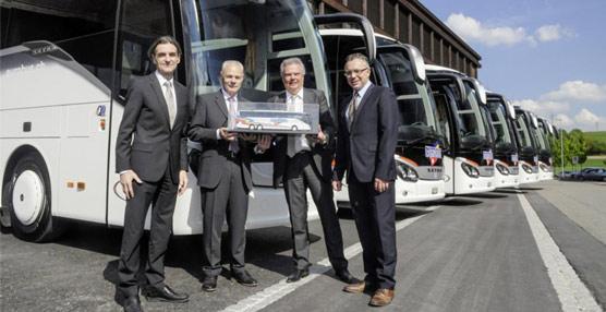 El grupo suizo de transporte Eurobus amplía su flota con seis unidades del ComfortClass 500 de Setra