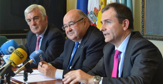 Luis Ángel Gómez, a la derecha de la imagen.