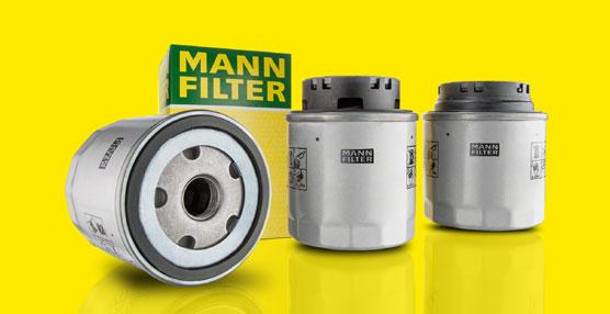 Los tres nuevos filtros blindados de aceite de MANN+HUMMEL ayudan a suministrar el aceite al motor de forma más eficiente.