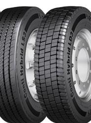 Continental lanza el neumático Conti Hybrid HS3 para transporte regional y distribución en carreteras